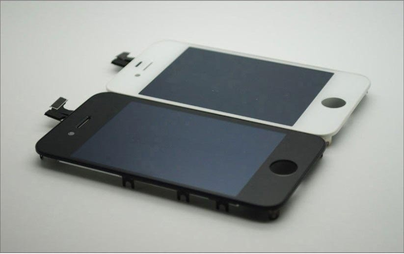 Lcd iPhone 4 touchscreen cu display albe negre