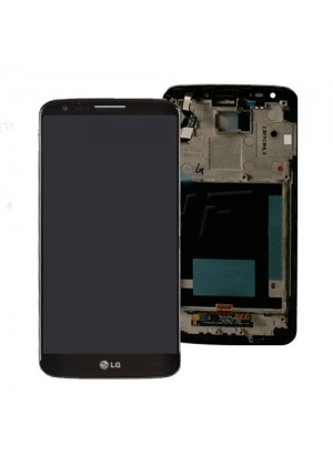 Display LG G2 D802 negru original nou / complet cu touchscreen