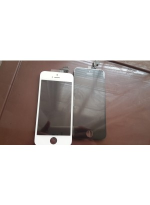 Lcd iPhone 5s display cu touchscreen albe negre